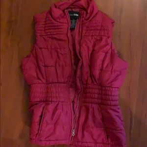 Outer Edge Vest Puffer Women Large